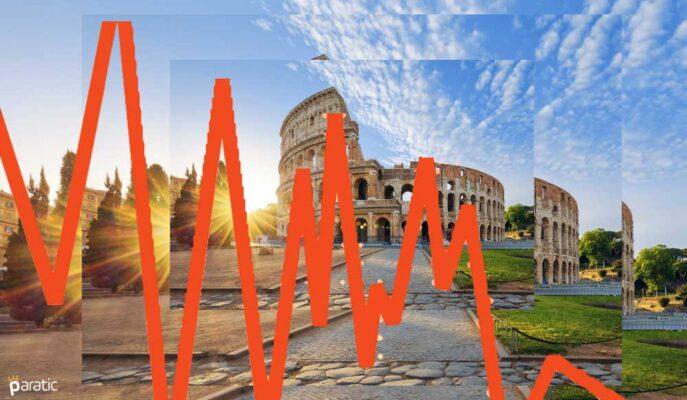 İtalya'da Enflasyon 2,5 Yılın Yükseğinde Kalırken Borsa Negatif
