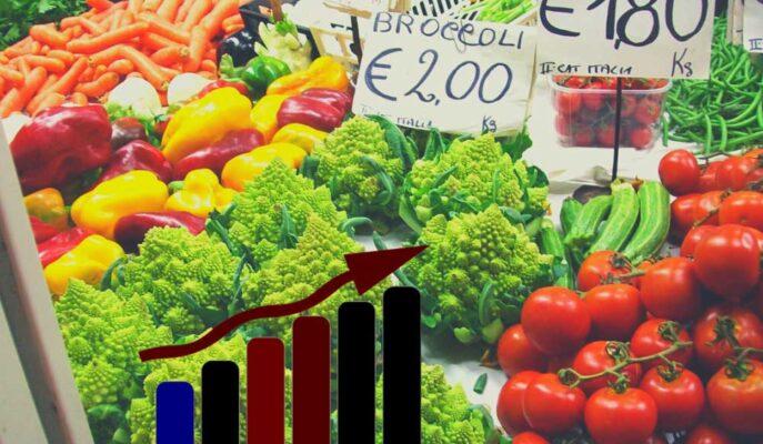 İtalya'da Enflasyon 2,5 Yılın Yükseğine Çıkarken FTSE MIB Eksiye Düştü