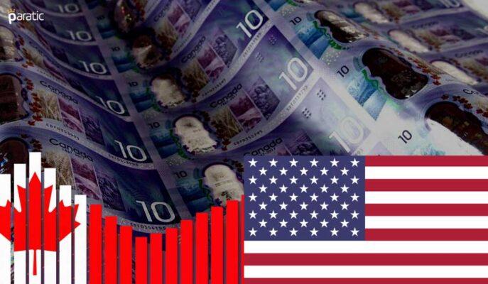 Kanada ve ABD İş Verileri USD/CAD'ı Sert Düşürdü