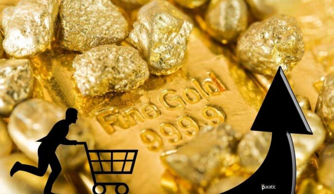Küresel Altın Fiyatları Enflasyon Endişesinden Besleniyor