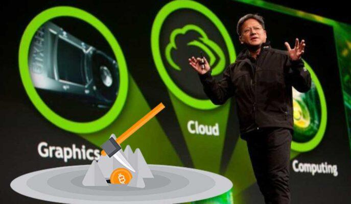 Nvidia CEO'su Kripto Para Madenciliğinin Kalıcı Olacağını Söyledi