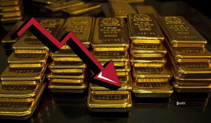 Ons Altın Yellen'in Yüksek Faiz Yorumuyla Düşüş Gösterdi