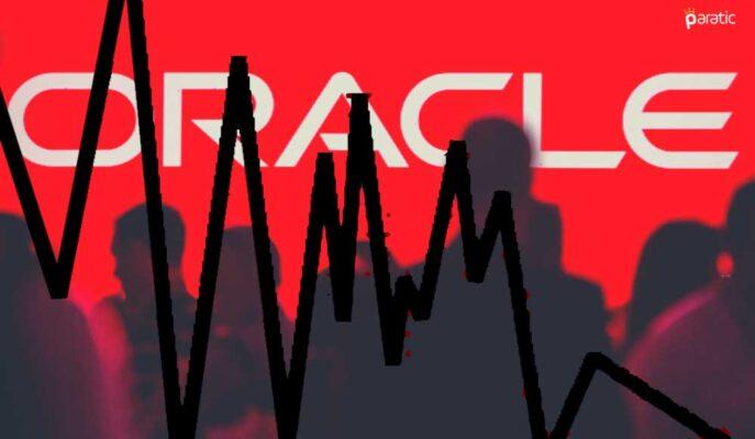 Oracle Hisseleri S&P 500'ün En Sert Düşüşünü Kaydetti