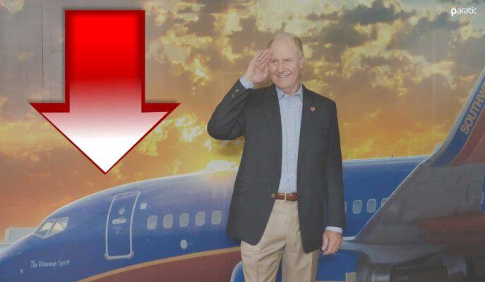 Southwest Airlines'da CEO Değişikliği Hisseleri 3,5 Ayın Düşüğüne Götürdü