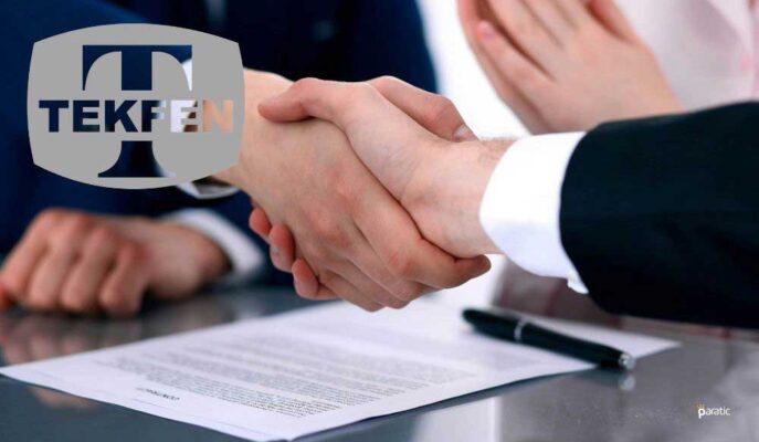 Tekfen 220 Milyon TL Tutarındaki Varlık Satışı Anlaşmasını İmzaladı