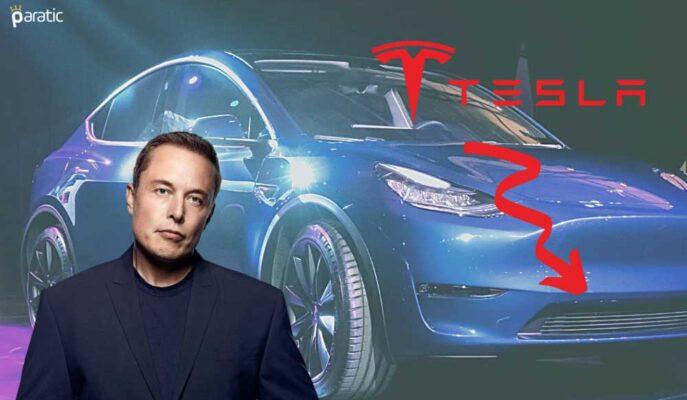 Tesla Hisseleri Şirketin Araçlarını Geri Çağırmasıyla Düştü