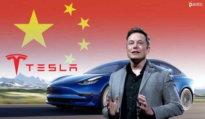 Tesla'nın Çin'de Yapılan Araç Satışlarında Artış Hisseleri Yükseltti