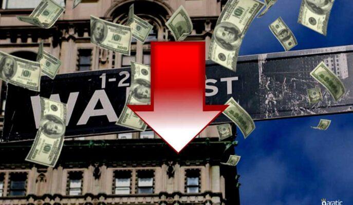 Wall Street FED'in Faiz Artışı Beklentisiyle Negatif Bölgede İlerliyor