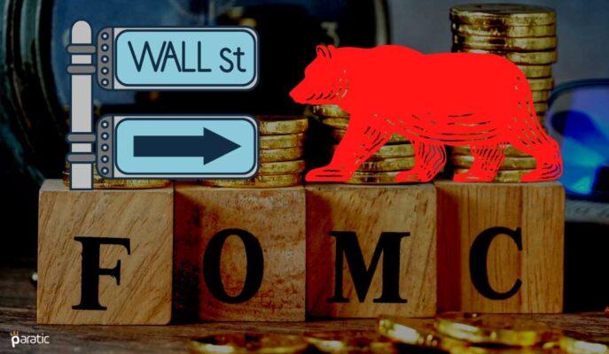 ABD Vadelilerinin Yönü Wall Street'in FOMC Sonrası Düşüşüne İşaret Ediyor