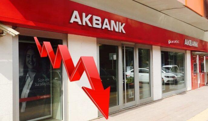 Akbank Borçlanma Aracı İhracı Limit Başvurusu Yaparken, Hisseleri Düşüyor