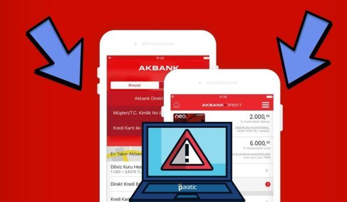 Siber Saldırı İddialarına Açıklama Getiren Akbank Hisseleri Düşüyor