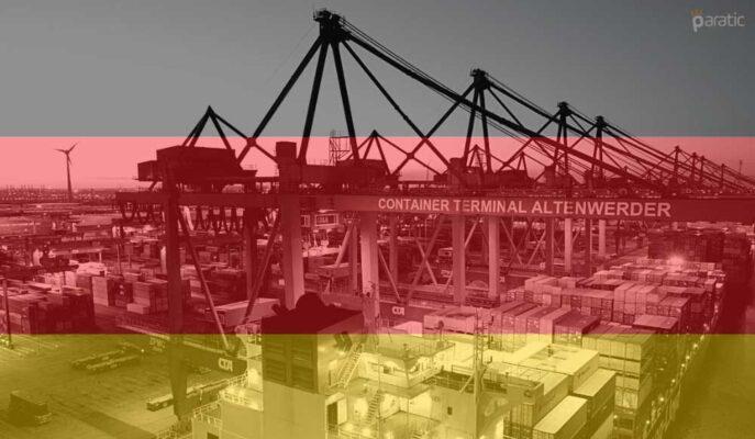 Almanya Ticaret Fazlası Mayıs'ta 12,3 Milyar Euro Oldu