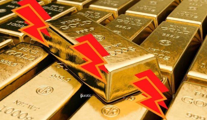Altın FED Tutanakları Sonrası 1800 Dolar Altına Çekildi