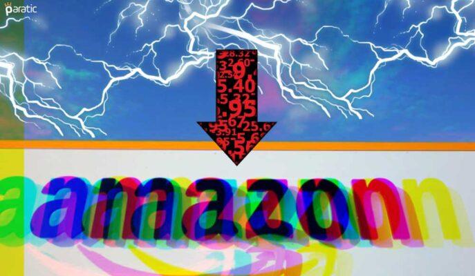 Amazon Hisseleri Şirketin Karamsar Kazanç Rakamlarıyla Sert Düştü