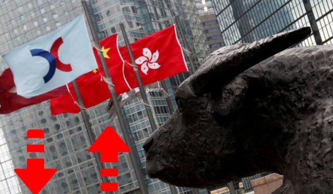Asya Piyasaları Karışık Seyrederken, Hong Kong Düşüşlere Öncülük Ediyor