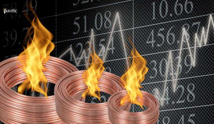 Bakır FOMC ile Güçlenen Dolar Baskısıyla %2'ye Yakın Düştü