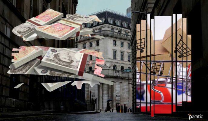 Beklenti Üstü Haziran TÜFE'sinin Ardından Sterlin Yükselirken Borsa Ekside