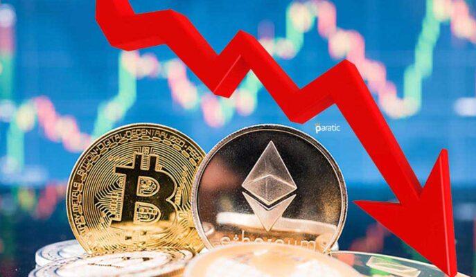 Bitcoin Yeniden 33 Bin Doların Altına Düşerken Ethereum Kayıplarını Artırdı