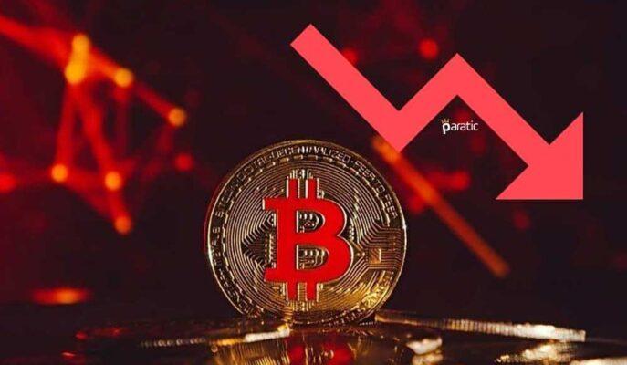 Bitcoin Düşüşünü Hızlandırdı ve 33.500 Dolara Kadar Geriledi