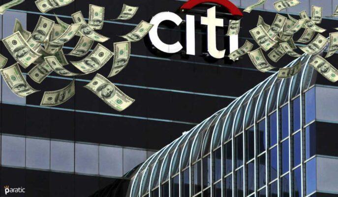 Citigroup Hisseleri Beklenti Üstü 2Ç21 Kazancıyla Yükseldi