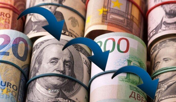Döviz Kurları Düşüyor! Dolar 8,67, Euro 10,26'ya Geriledi