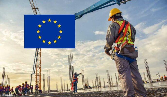Euro Bölgesi'nde İnşaat Faaliyeti Büyümesi Haziran'da Sabit Kaldı