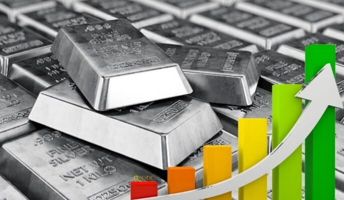 %1 Artıda İşlem Gören Gümüş En Çok Yükselen Metallerden Oldu