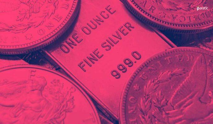 Gümüş Temmuz'un Son Haftasında 25,5 Dolar Altında