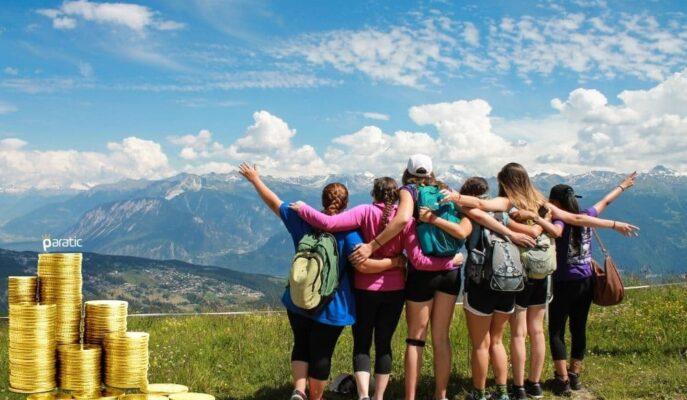 2021'in İlk Çeyreğinde Hanehalkı Yurt İçi Turizmine 6 Milyar TL Harcandı