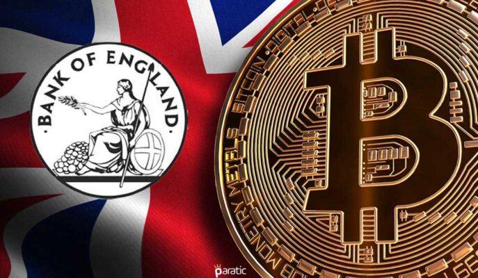 İngiltere Merkez Bankası, Kripto Para Piyasasındaki Gelişmeleri Değerlendirdi
