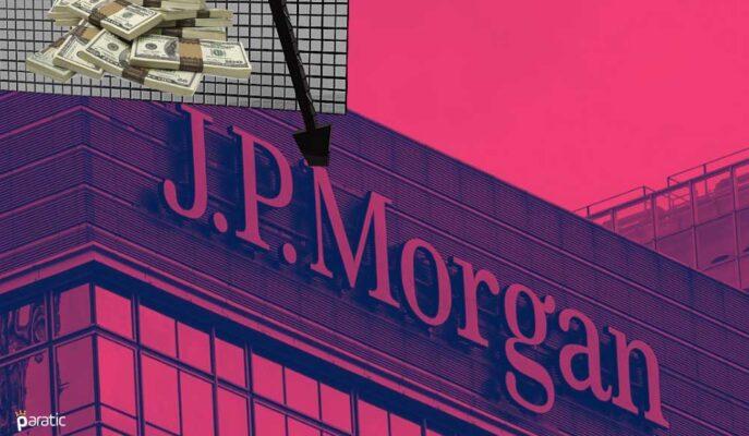 JPMorgan 2Ç21 Kazancıyla Beklentileri Aşarken Hisseler Açılış Öncesinde Düştü