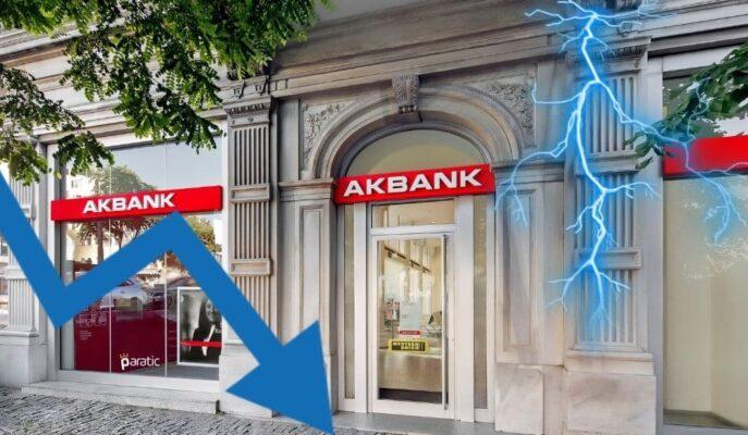 Kesinti Sorunu Çözülen Akbank Hisseleri Satış Baskısında