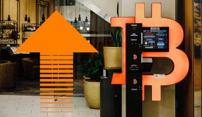 Kripto Para ATM'leri 2021'de %70'den Fazla Arttı