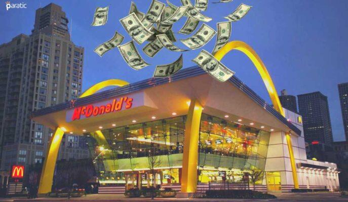 McDonald's 2Ç21'de Güçlü Kazanç Açıklarken Hisseler Ekside