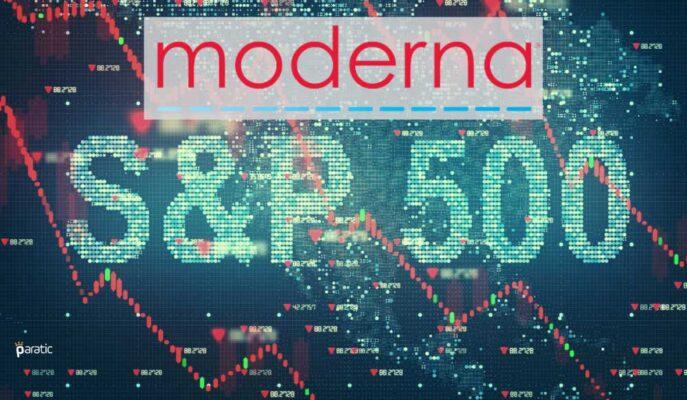 Moderna Hisseleri S&P 500'e Dahil Olacağı Haberiyle Yeni Rekor Kırdı