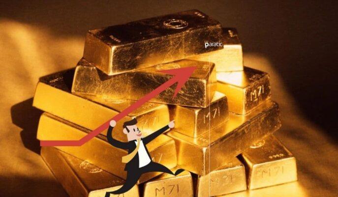 Ons Altın Yükselişte! 3 Haftadır İlk Kez 1800 Doları Aştı