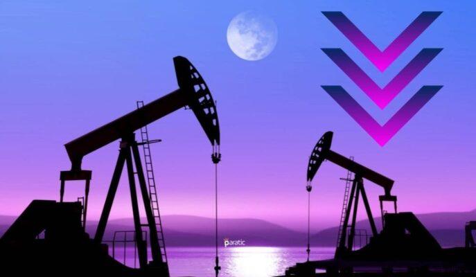 Petrol Fiyatları Artan Vakalar ve Çin'deki Sel Felaketiyle %1 Geriledi