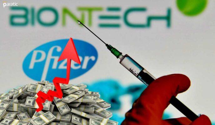 Pfizer 7,8 Milyar Dolarlık Covid Aşısı Sattı, Hisseler Sert Yükseldi