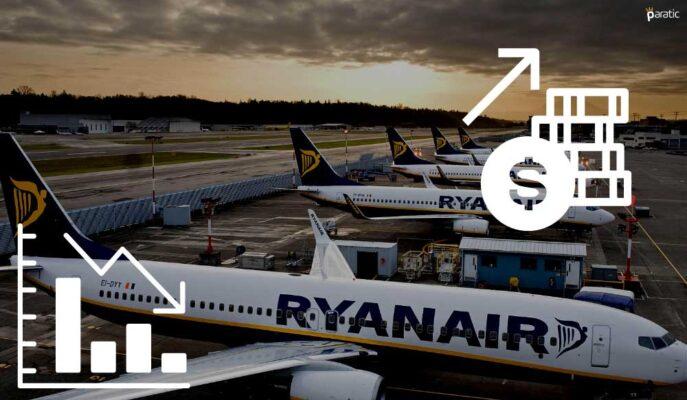 Ryanair Hisseleri 273 Milyon Euro Zarara Rağmen Yükseliyor