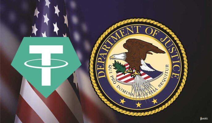 Tether Yöneticileri ABD Adalet  Bakanlığı Tarafından Soruşturma Geçirecek