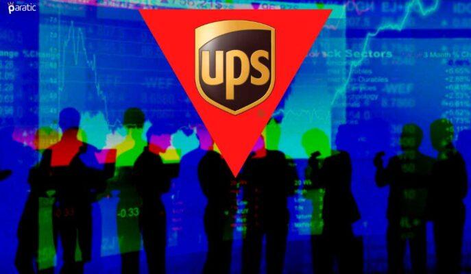 UPS Hisseleri 2Ç21'deki Beklenti Üstü Kazanca Rağmen Düştü