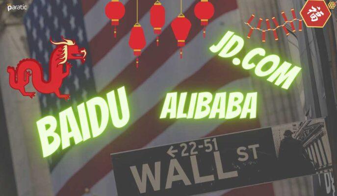ABD'de Listelenen Çinli Teknoloji Hisseleri Açılış Öncesi Sert Yükseldi