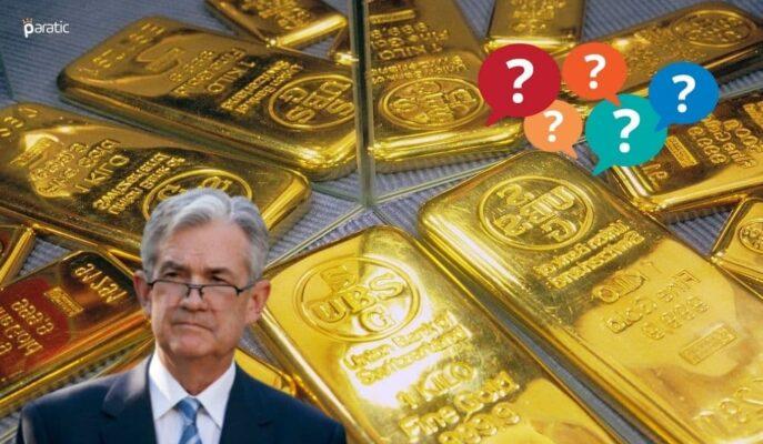 Altın Fiyatları FED/Powell'ın Konuşması Öncesi Sınırlı Pozitif