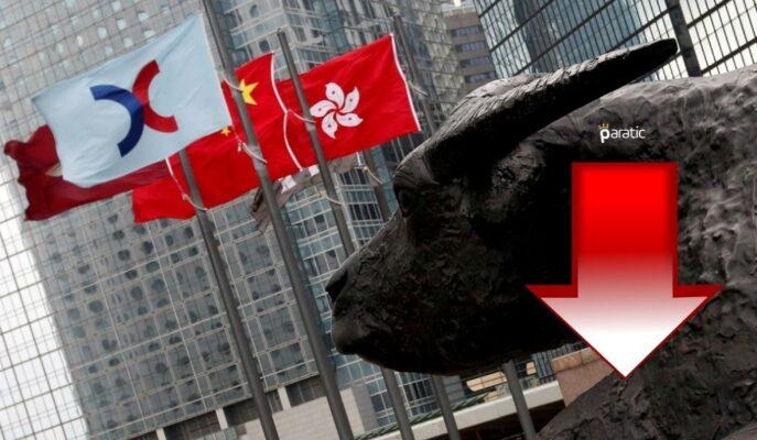 Asya Piyasaları Negatif Seyrederken, Hong Kong'da Kayıplar %2,5'i Aştı
