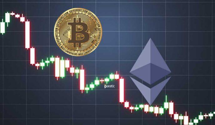 Bitcoin 38 Bin Dolara Kadar Gerilerken, Ethereum Düzeltme Yaptı