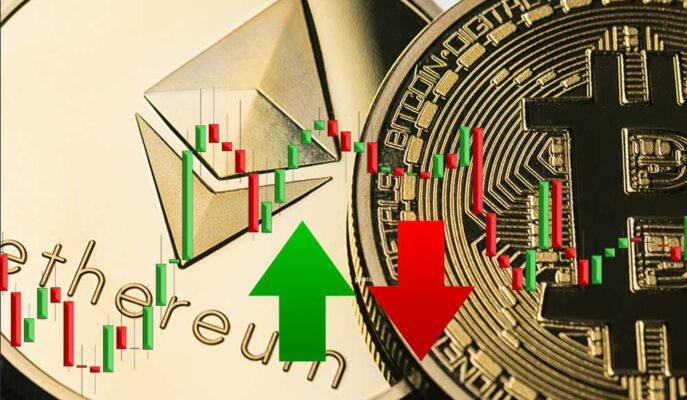 Bitcoin 50 Bin Dolar Direncinden Dönerken, Ethereum Yükselişe Hazırlanıyor