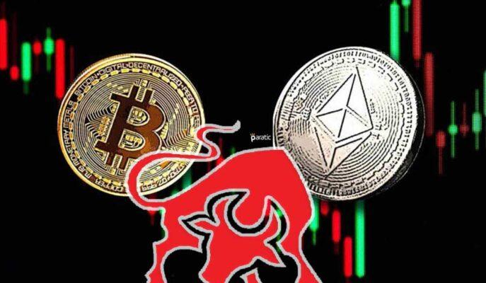 Bitcoin ve Ethereum'daki Zincir Verileri Boğa Piyasasına İşaret Ediyor
