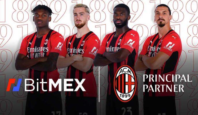 BitMex Borsası AC Milan'ın Forma Sponsoru Oldu