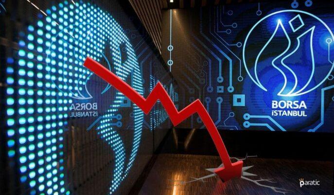 Borsa Küresel Risk İştahının Zayıflamasıyla %1 Geriledi
