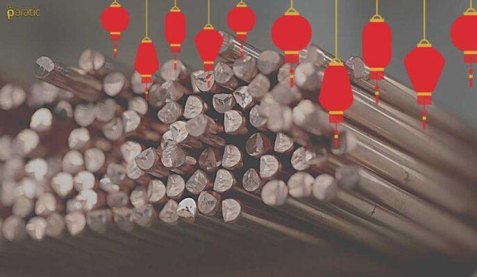 Çin'in Negatif Verileriyle Düşen Bakırın Yıllık Kazancı %47'ye Geriledi